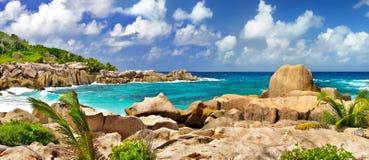 Seychelles que sorprenden Imagen de archivo libre de regalías
