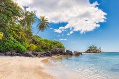 Seychelles raju plaża obraz stock