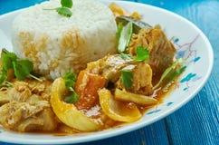 Seychelles ryba curry obrazy royalty free