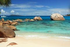 Seychelles seascape. Stock Image