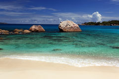 Seychelles seascape. Stock Photos