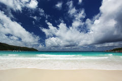 Seychelles seascape. Royalty Free Stock Image