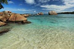 Seychelles seascape. Royalty Free Stock Photos