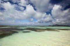 Seychelles seascape. Royalty Free Stock Image