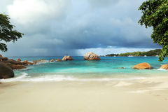 Seychelles seascape. Stock Images
