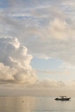 Seychelles seascape. Royalty Free Stock Photography