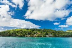 Seychelles. Beautiful place Praslin island Royalty Free Stock Photography