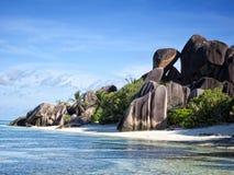 Seychelles wyspa Fotografia Royalty Free