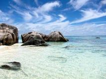 Seychelles wyspy. Zdjęcie Royalty Free