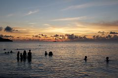 Seychellois Bath Stock Photos