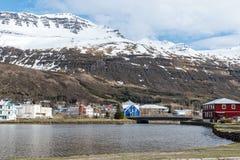 Seydisfjordur, Iceland obrazy stock