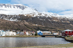 Seydisfjordur, Islandia Imagenes de archivo
