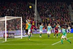 Seydou Keita (FC Barcelona) Stock Image