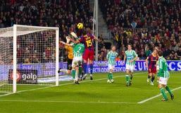 Seydou Keita (FC Barcelona) Royalty Free Stock Image