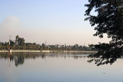 seyhan的河 库存照片