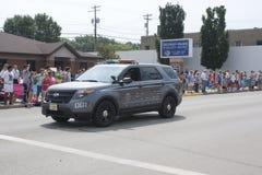 Seymour Police SUV Stock Photo
