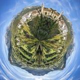 Seyne les Alpes地平线  库存图片