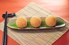 Sezamowa piłka Obrazy Stock