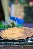 Sezamowy Kleistego Rice blin Zdjęcia Royalty Free