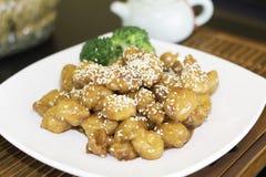 Sezamowy kurczak Fotografia Stock