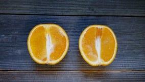 Sezionale arancio Immagine Stock