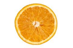 Sezione arancio Fotografie Stock Libere da Diritti