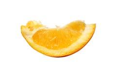 Sezione arancione Fotografia Stock Libera da Diritti