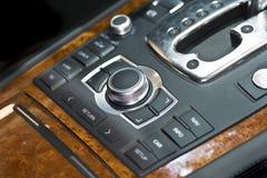 Sezione comandi dell'automobile fotografie stock libere da diritti
