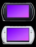 Sezione comandi portatile del video gioco Immagine Stock