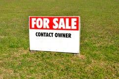 Sezione da vendere il segno Fotografie Stock