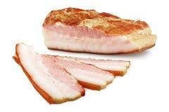 Sezione del bacon Fotografia Stock