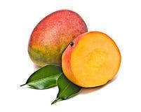 Sezione del mango fotografia stock