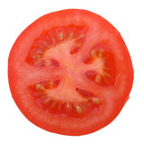 Sezione del pomodoro Fotografie Stock Libere da Diritti