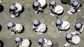Sezione del tamburo di parata di Cuenca da sopra Fotografia Stock