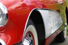 Sezione dell'automobile Fotografia Stock