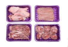Sezione della carne di tacchino Immagini Stock Libere da Diritti