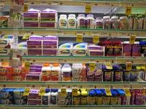 Sezione della droga Fotografia Stock