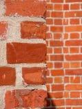 Sezione della parete di vecchia chiesa Immagini Stock Libere da Diritti