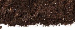 Sezione della sporcizia o del suolo immagini stock libere da diritti
