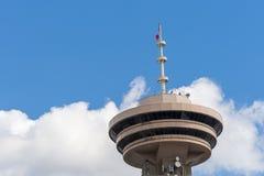 Sezione della tomaia della torre dell'allerta di Vancouver Immagini Stock
