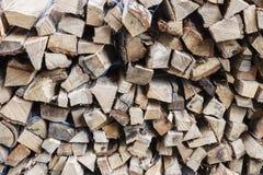 Sezione di legno come fondo Fotografia Stock
