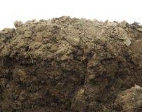 Sezione nel suolo o nella sporcizia immagine stock