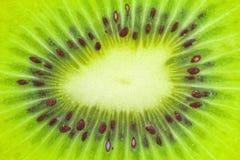 Sezione trasversale del kiwi Immagine Stock Libera da Diritti