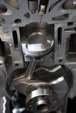 Sezione trasversale del motore Fotografia Stock Libera da Diritti