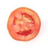 Sezione trasversale del pomodoro rosso Immagine Stock