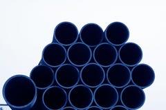 Sezione trasversale del tubo di acciaio senza cuciture Immagini Stock