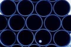 Sezione trasversale del tubo di acciaio senza cuciture Fotografia Stock Libera da Diritti