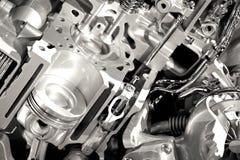 Sezioni moderne del motore Immagine Stock Libera da Diritti