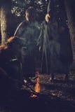 Sezon czarownicy Zdjęcia Royalty Free