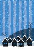 sezon zimy. royalty ilustracja